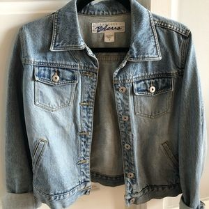 Express denim jacket (M)